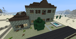 Minecraft Mansion II by shadwgrl