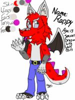 Ref Sheet (reppy) by DougFluff345