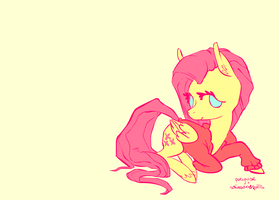ponywise x sofasandquills: fluttershy by ponywise