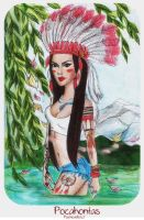 Pocahontas by psichodelicfruit