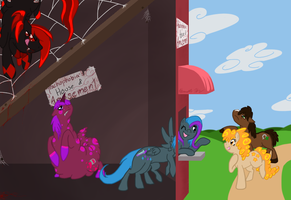 Come on in, everypony.... by MysteryUser101