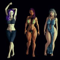Hairy Ladies 4 by ambient-avalancher
