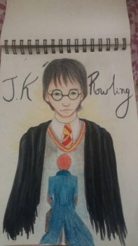 World of j.k rowling by DC018