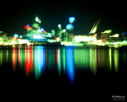 My Melbourne - Abstracted by grae-hall