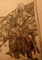 Connor Kenway by Marivyn