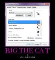 Big the cat Cursors by SpringsTS
