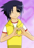 Sasuke Hearts You by fluffykikyo