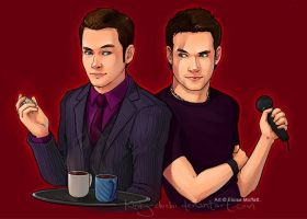 Ianto and Gareth request by Kinky-chichi