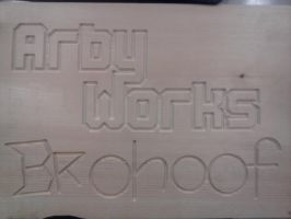 Arby Works Brohoof Plaque by Arby-Works