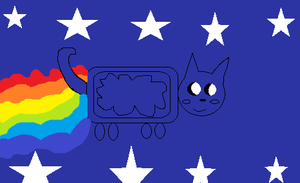 Nyan Cat Base by Metylover2143