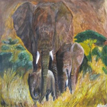 Elephant Painting! by InvincibleSkye