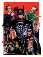 Batman Forever without Joel by SteveStanleyArt