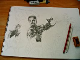 The Avengers WIP by SarahStar123
