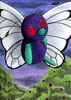 Butterfree by o-Anubis-o