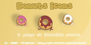 Icons Donuts by Franatix