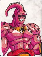 An original Broly-Buu by ChahlesXavier