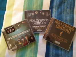 Hollywood Undead Albums by smcveigh92