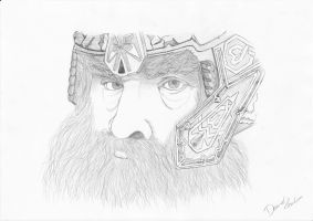 LOTR - Gimli the Dwarf by casu90
