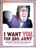 JOIN THE BRO ARMY! by SlightlyChippedHeart