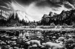 Yosemite Valley in Winter by nathanspotts