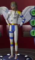 Sims2: Angemon by 19AnniAngel92