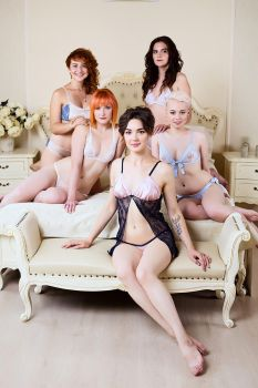 Nude Lingerie Collection by Megami 03 by ilona-lab