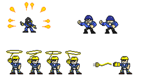 More MF2 Boss Sprites by AgentMidnight