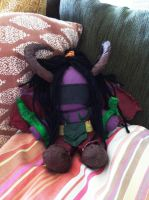 Illidan Plushie by Refinition