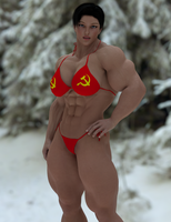 Soviet Superwoman by DerpyBadger by Soviet-Superwoman