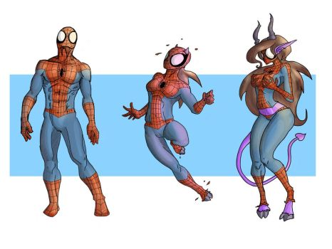 Spider-man to Succubus by sampleguy