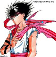 HIEI-YUYU HAKUSHO (MARKER COLOR) by MUERTITO69