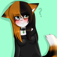 calico cat [c] by CooI