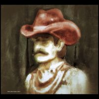 Red Hatted Cowboy by wdlougee