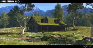 Pond Cottage 1.1© by Massi-San
