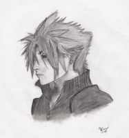 FFVII:AC Cloud Strife Portrait by Guiled-Dragon