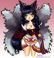 Ahri by Finaz