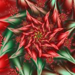 Christmas Poinsettia by wolfepaw