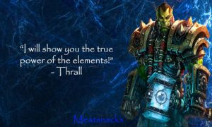 Thrall Signature (World of Warcraft) by Meatsnacks