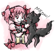 Madoka x Fluffy by PerfectFluffy