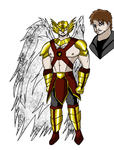 Justice League Elite: HAWKMAN by pipe07