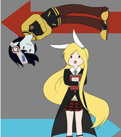 adventure time soul eater by kaiwii-chan