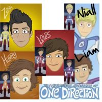 The Adventurous Adventures of One Direction Names by HarryParsons