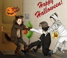 PW - Happy Halloween by Kiu227