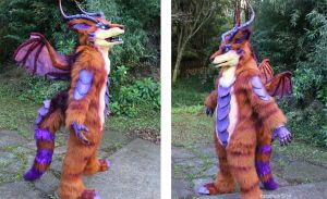 Fursuit full body by zarathus