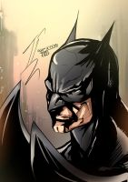 batman face by mangacata