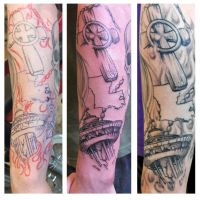 Tattoo - Step by Step Shot by Electricalivia