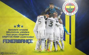 Fenerbahce Wallpaper by Meridiann