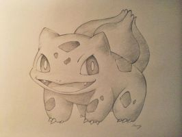 Bulbasaur! by Cherrycake4