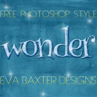 EVA BAXTER DESIGNS - WONDER PHOTOSHOP STYLE by EvaTakesNoPrisoners