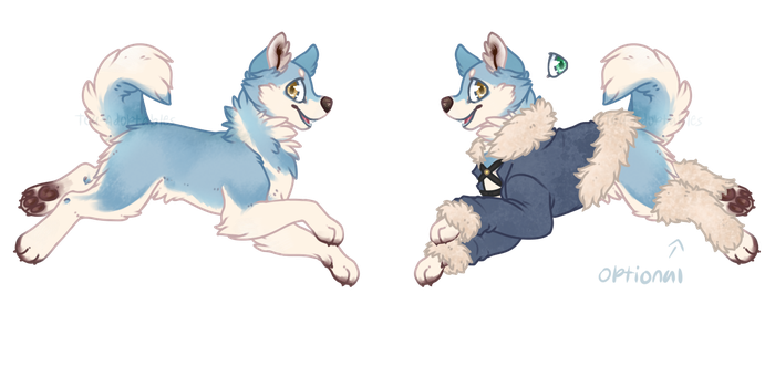 Husky Entry for SpaceOddity's Contest by Tea-Adoptables